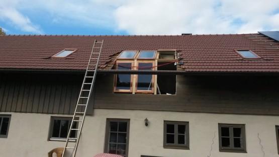 Dachfenster Einbau in Steingaden